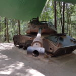 An old tank at the Cu Chi Tunnels.
